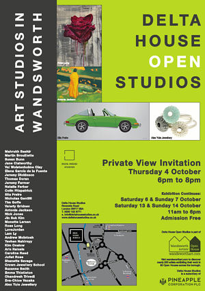 Open Studio Invitiation